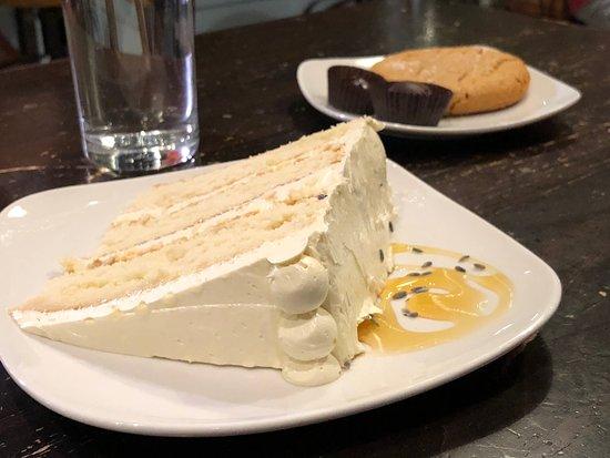 French Broad Chocolate Lounge : Honey Lavender Vanilla Cake