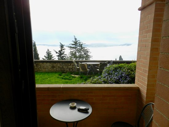 Piccolo Hotel La Valle Pienza: Over the valley