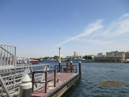 Bur Dubai Abra Dock: TRAVERSEE EN BATEAU