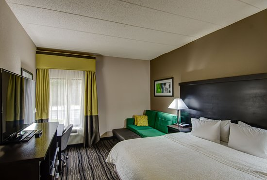 Hampton Inn Bowie: King Room with Sofa Bed