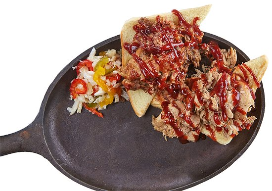 Bar of Wausau: BBQ Plate
