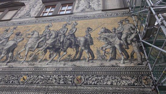Procession of Princes: Konserwacja obiektu