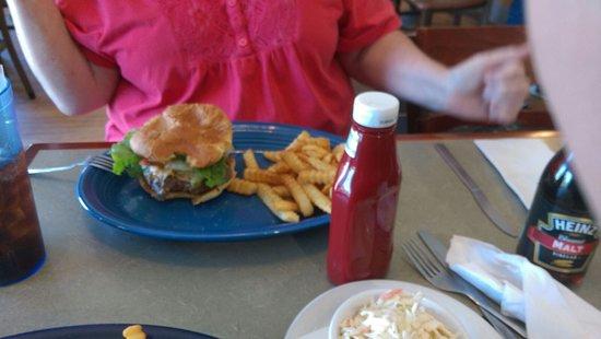 Galena, OH: The cheeseburger!!