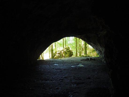 Muggendorf, Germany: Ausgang Oswaldhöhle