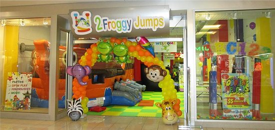 2 Froggy Jumps: entrance