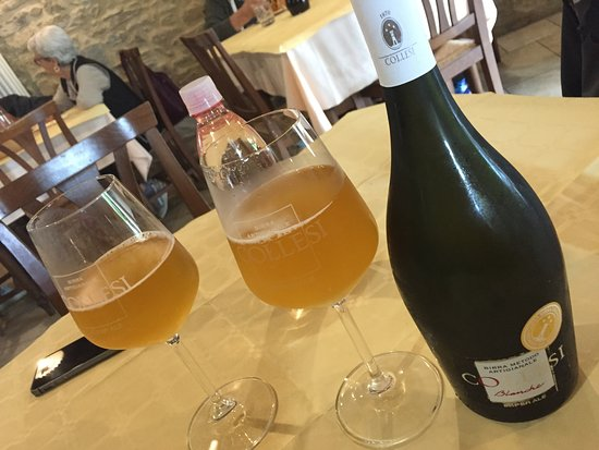 Apecchio, İtalya: Birra artigianale