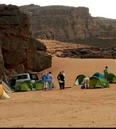 Djanet, Αλγερία: Nuitée bivouac