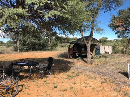 Vryburg, South Africa: Camp site