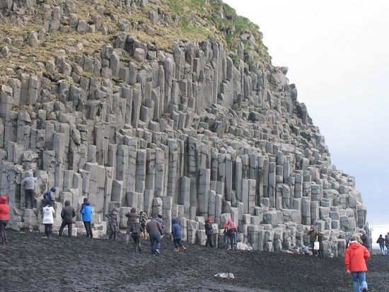 Southern Iceland Glaciers, Waterfalls and Beaches Day Tour: Magical formation