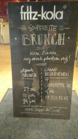 Ledeberg, بلجيكا: Brunch op zondag