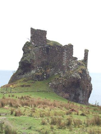 Isle of Raasay, UK: Brochel Castle
