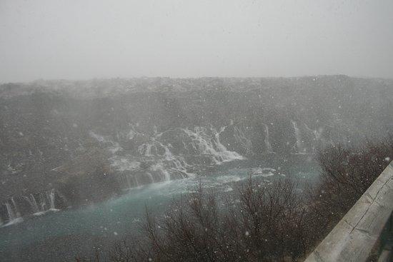 Husafell, Ισλανδία: even great through the snow!