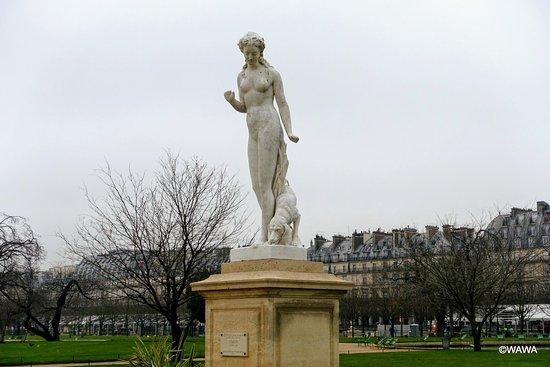Statue La Nymphe