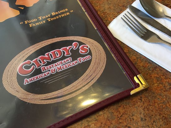Oakdale, CA: Cindy's American & Mexican Food
