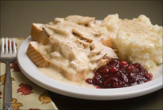 Mauldin, Южная Каролина: Hot Open Turkey Sandwich