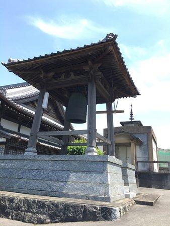 Kurume, Japan: 梵鐘の感じ