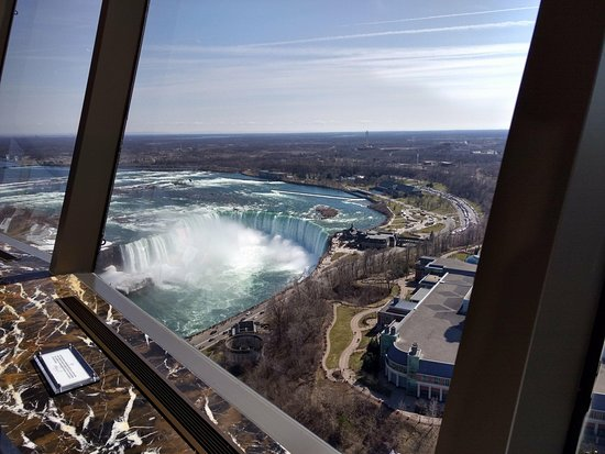 Table view picture of skylon tower revolving dining room niagara skylon tower revolving dining room table view sxxofo
