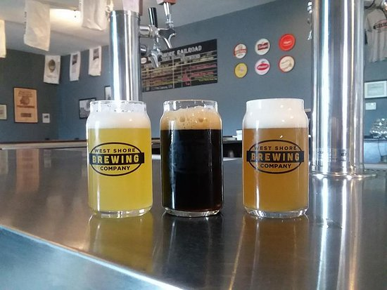Clarence, NY: A selection of brews inside our taproom