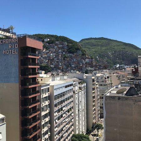 Rio Design Hotel: Vistas desde la terraza del hotel! Muy linda, es para aprovechar mucho más si tuviera un bar!