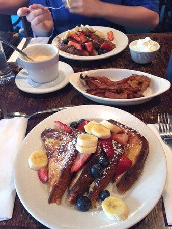 Cornerstone Cafe: french toast