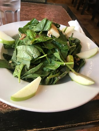 Princeton Junction, NJ: Spinach Salad