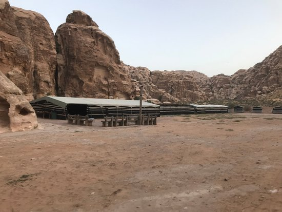 One Day Petra Trip from Eilat Israel: Another view of the camp