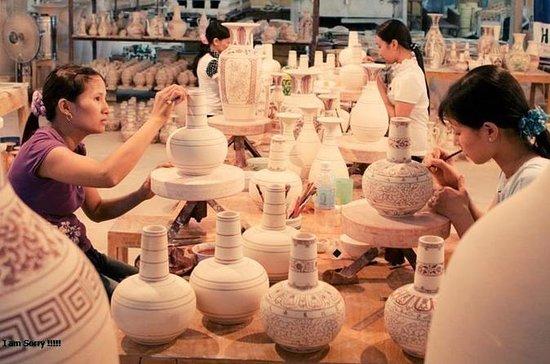Altes Dorf der Bat Trang Pottery...