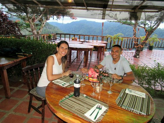 Love The Seating Picture Of Adventure Dining Jaco Tripadvisor