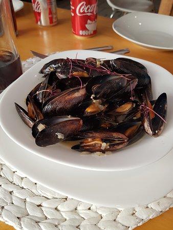 Ajijic, México: Mussels