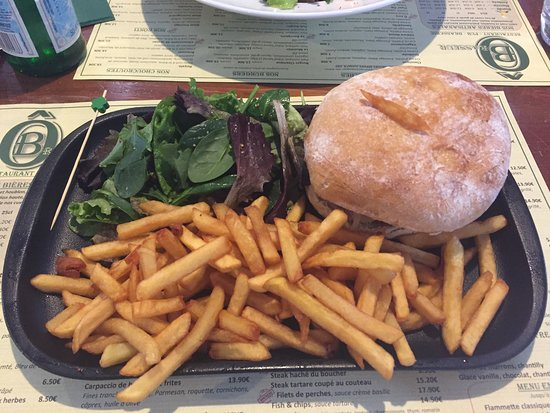 O'Brasseur: Hamburger frais