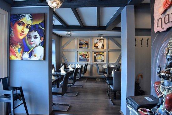 Anaya Indian Kitchen: Gastraum