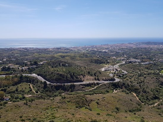 Mijas Pueblo, Spanyol: Vistas desde el Parque
