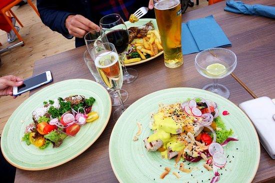 Hudiksvall, Suécia: Fantastiskt mat!