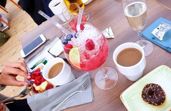 Hudiksvall, Suécia: Efterrätter eller drinkar efter maten!