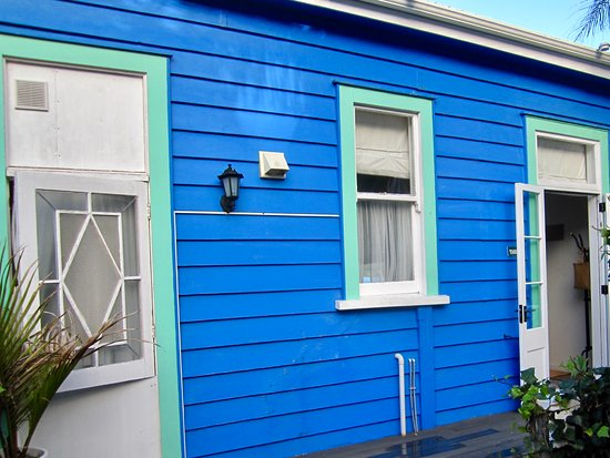 Mangonui, New Zealand: Apartment von aussen