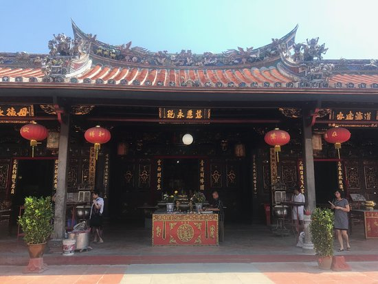 Cheng Hoon Teng Temple: the temple