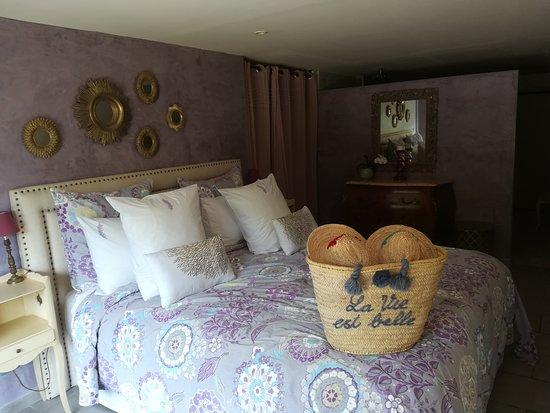 La Roquette-sur-Var, فرنسا: La chambre