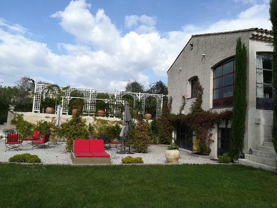 La Roquette-sur-Var, فرنسا: Le jardin