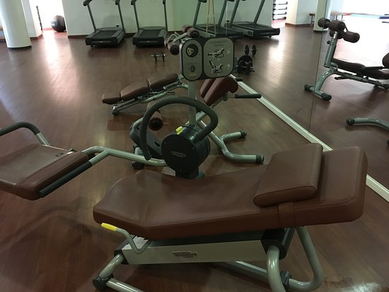 Castelvecchio Pascoli, İtalya: Well equipped gym