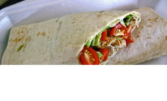 Shelly Beach, South Africa: Delicious Wrap