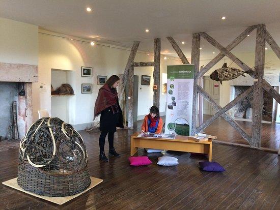 Carennac, ฝรั่งเศส: Exposition temporaire au dernier étage du château