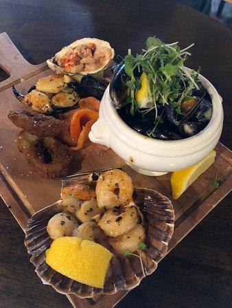 The Inn at Dromoland: Wild Atlantic Way Sharing Board - simply delicious!!