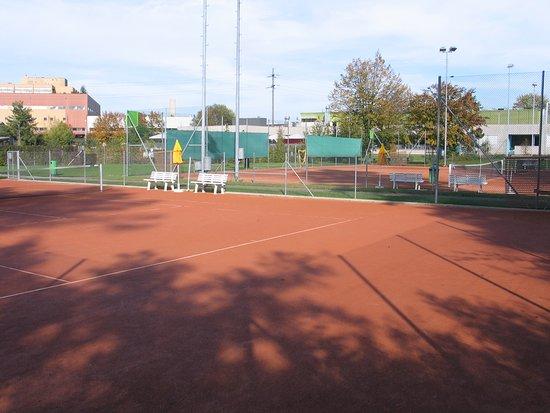 Greifensee, Schweiz: 4 Tennis-Aussenplätze (Belag: Sand)