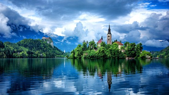 Koper, Eslovenia: Magic Lake Bled After The Summer Storm