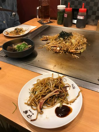 Kiji, Marunouchi: Beff tendon and yakisoba