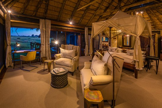 Linyanti Reserve, Botswana: Guest Tent at Kings Pool