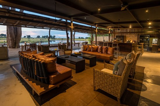 Linyanti Reserve, Botswana: Main Area at Kings Pool