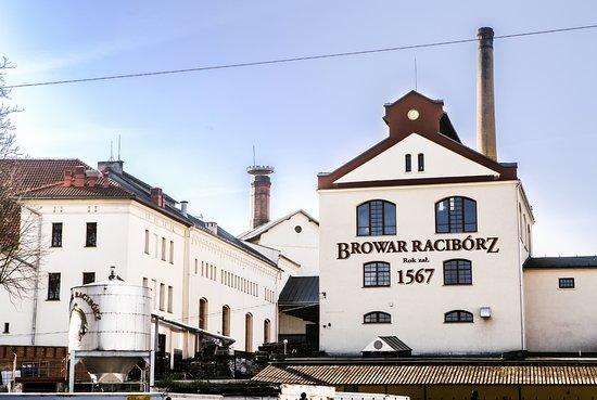 Raciborz, Polandia: Budynek główny Browaru