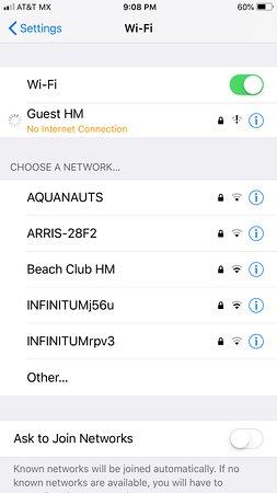 Hotel Hacienda Morelos: No Internet