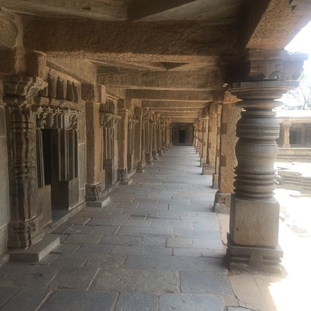 Somnathpur, India: The Hoysala architecture at this temple is elegant on outer walls and inside pillars including c